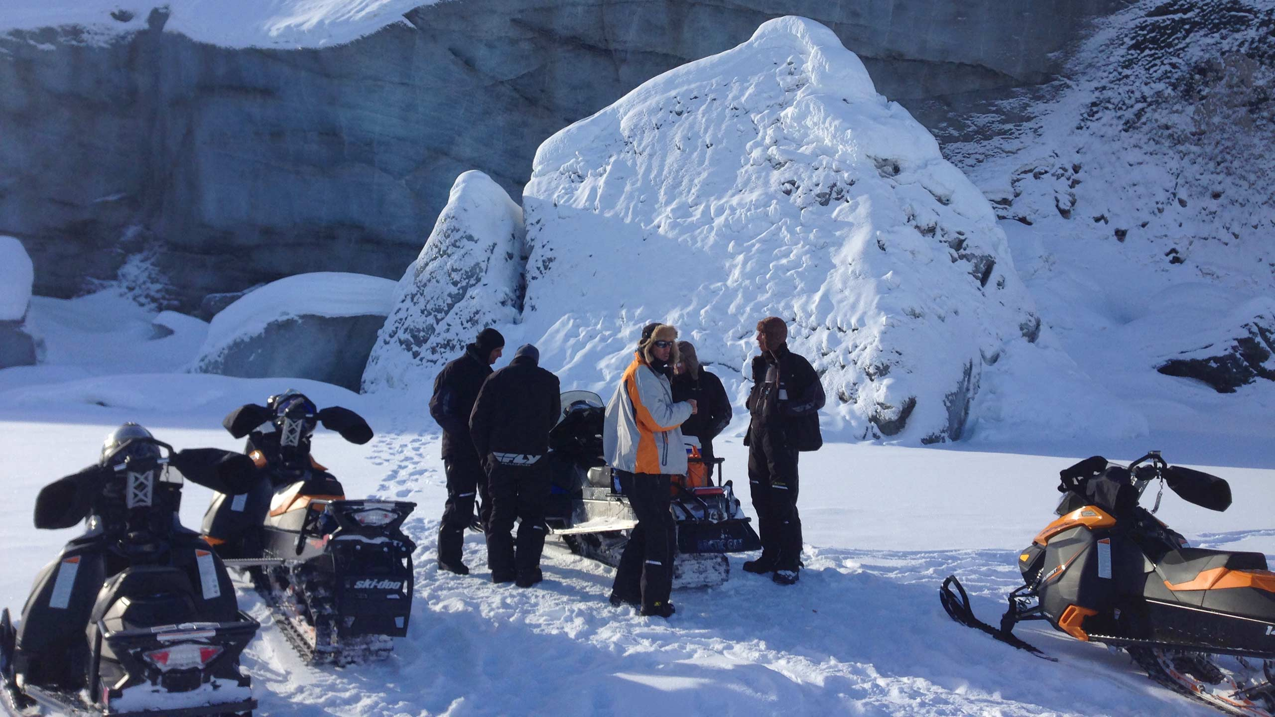 Guided Alaska Backcountry Snowmachine Tours