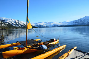 Summer Sailing Sea Kayak Day Tours