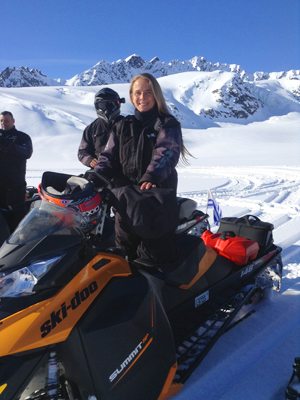 Alaskan Glacier & Backcountry Snowmobile Tours